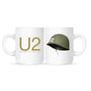 U2 The Best of 1980-1990 White Mug