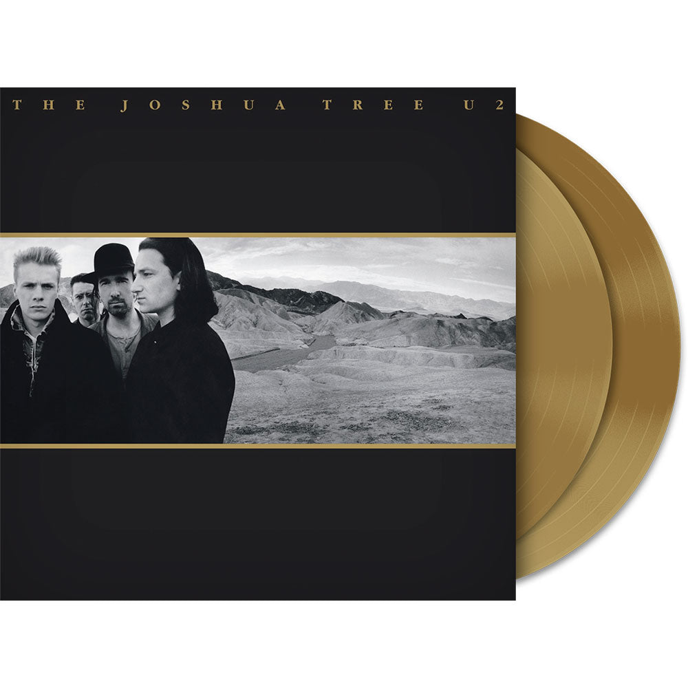 U2 The Joshua Tree Gold 2LP Vinyl