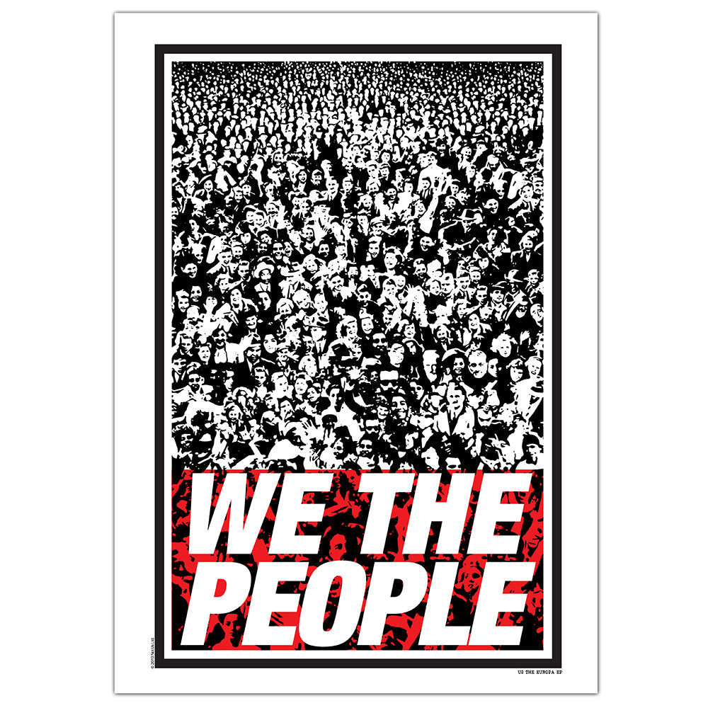 We The People Limited Edition Screenprint