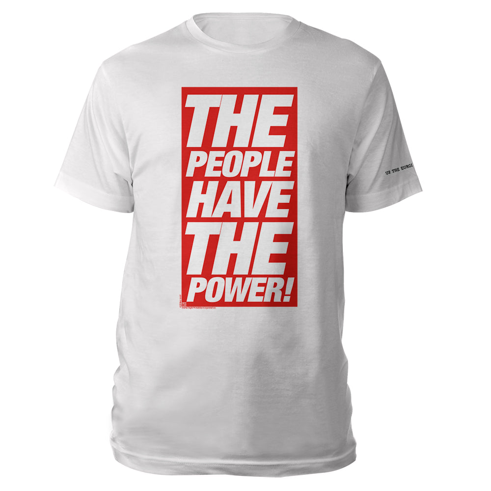 The People Have The Power White T-shirt