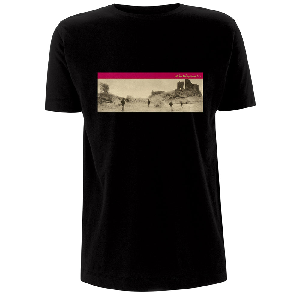 The Unforgettable Fire Black T-shirt