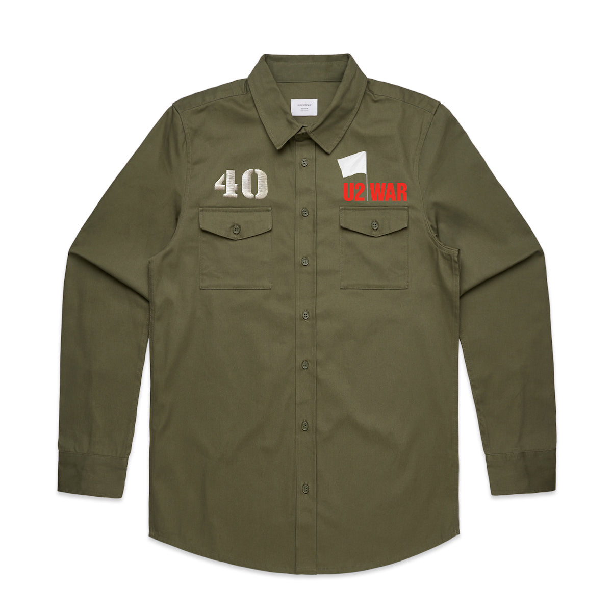 WAR Military Style Shirt