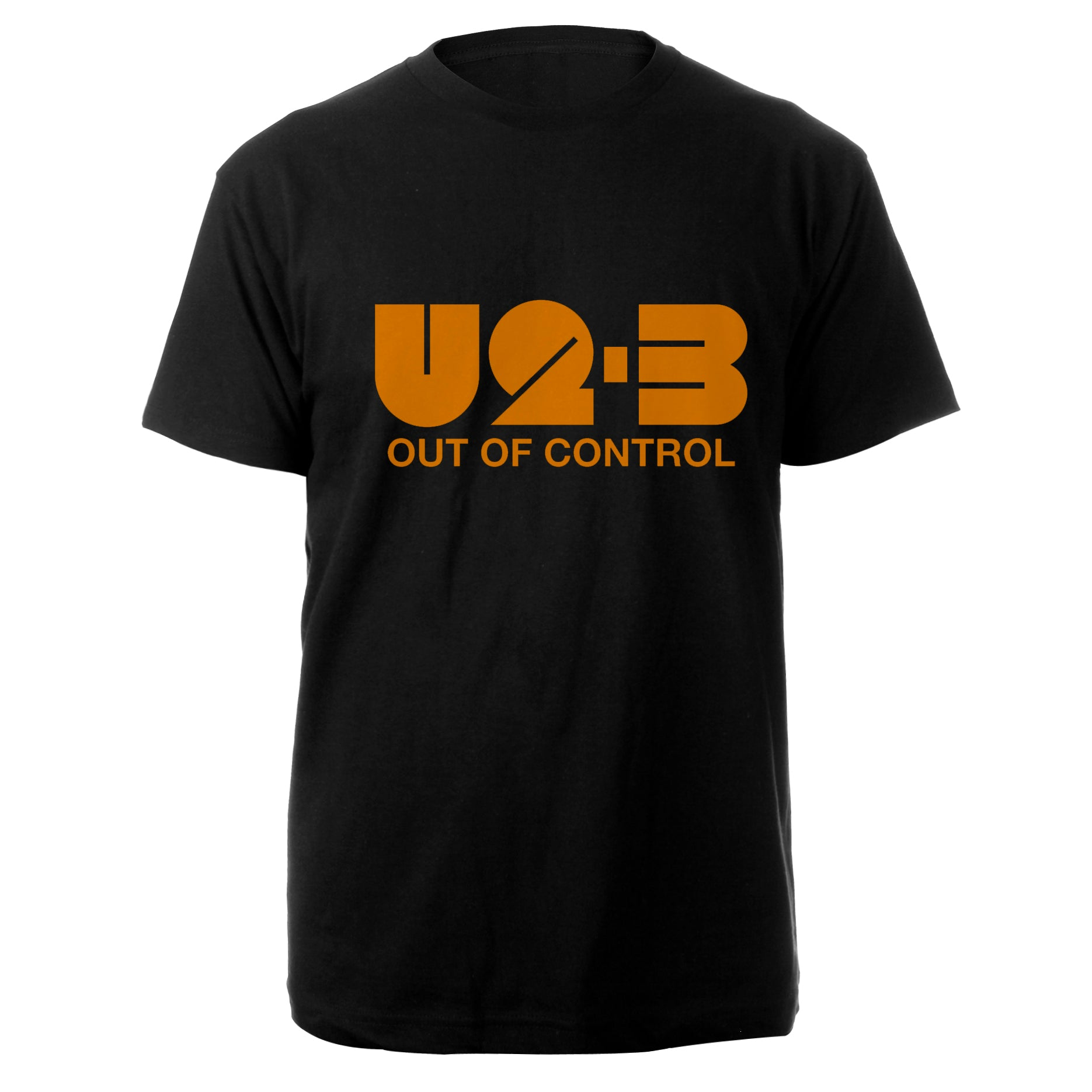 U2-3 Out of Control Black T-Shirt
