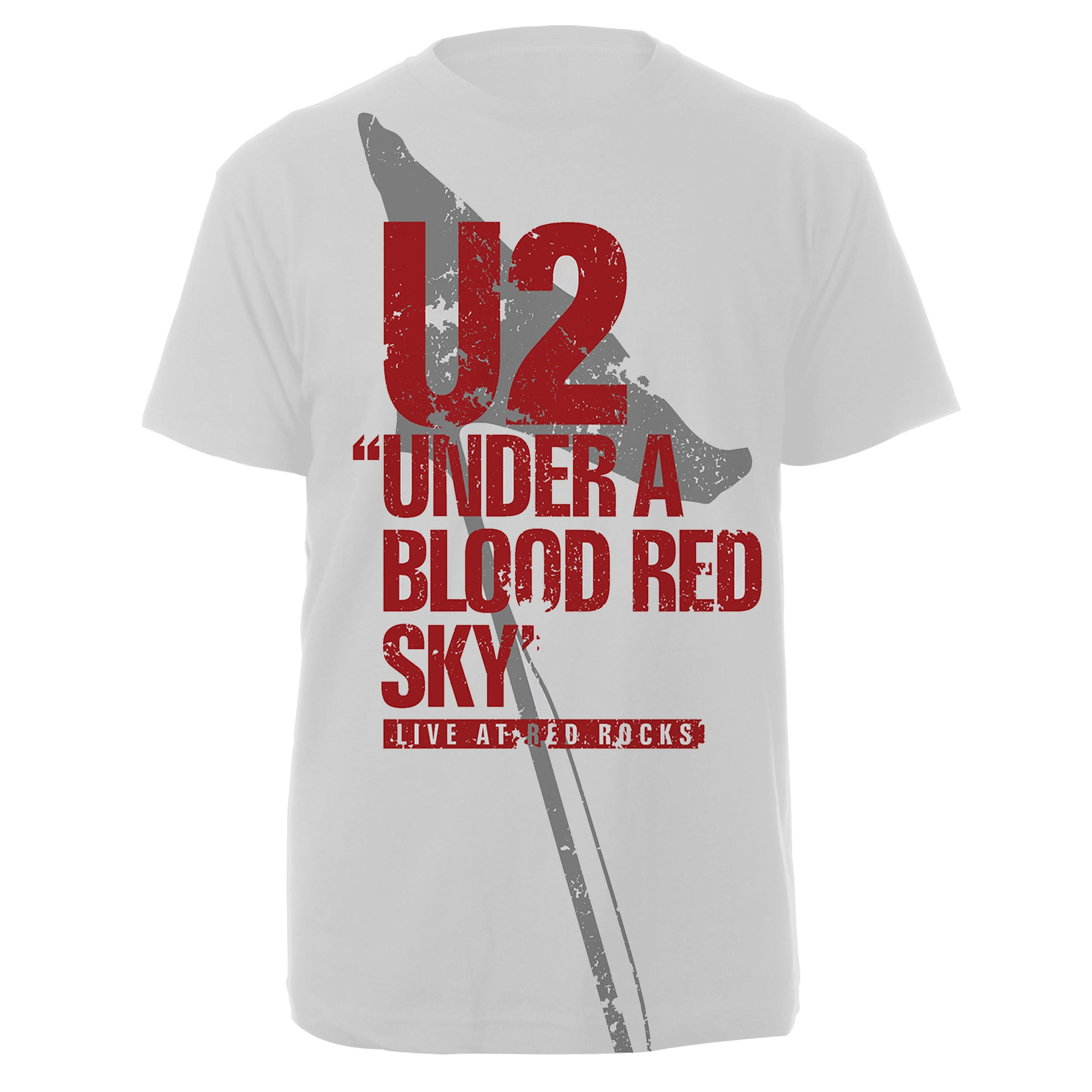 U2 Red Rocks White Tee