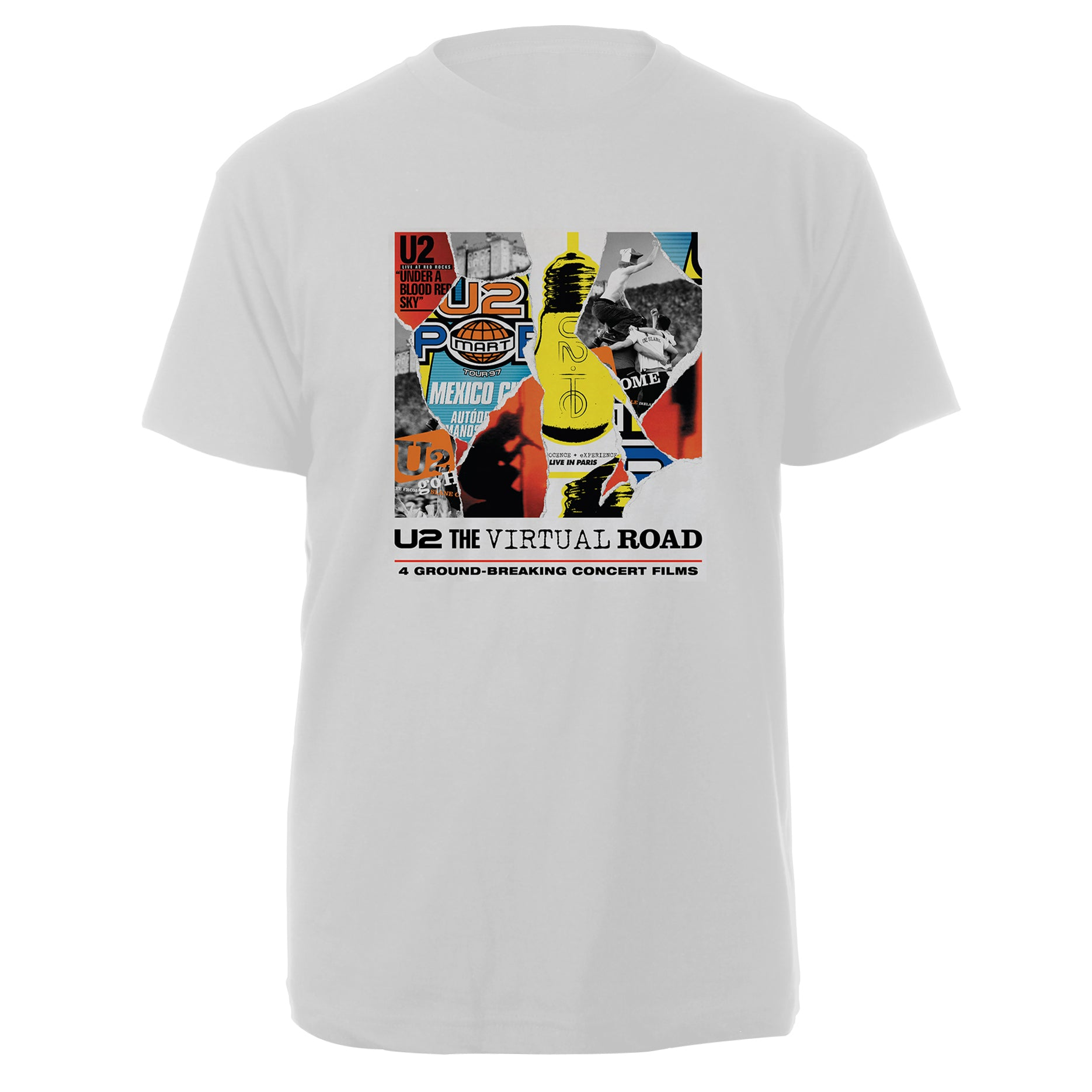 U2 The Virtual Road White Tee