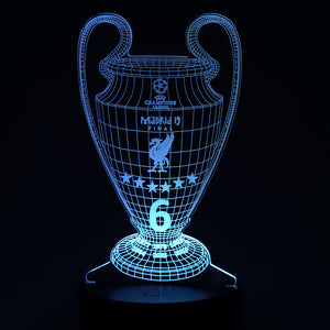 Champions 3D illusion Lamp