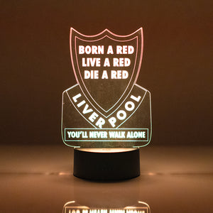 Liverpool For Life! ~ 3D Night Lamp