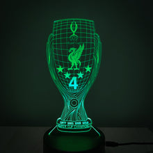Load image into Gallery viewer, Super Cup 3D illusion Night Lamp with Remote