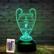 Load image into Gallery viewer, Champions 3D illusion Lamp