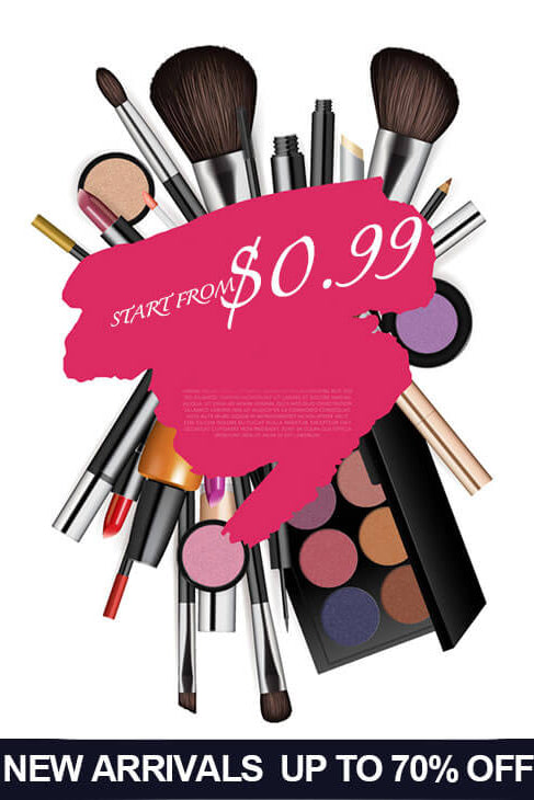 Shop Discount Beauty Products Online at JJslove, Best Sns Dip Powder Nails, Cheap Front Lace Wigs, Cleaning Makeup Brushes, Eyeshadow, Mascara and Lipstick