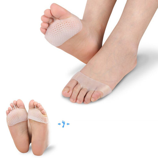 Silicone Insoles for Shoes Flatfoot Cushion Pads Foot Care Tool (1 Pair) - JJslove.com