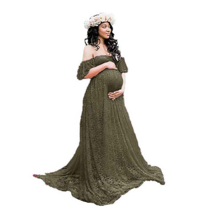 $26.99 Lace Pregnancy Dress Photography Maternity Dresses Free Shipping Worldwide