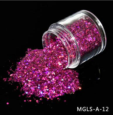 JJ'slove 12 Color Choice Mix Nail Glitter - JJslove.com