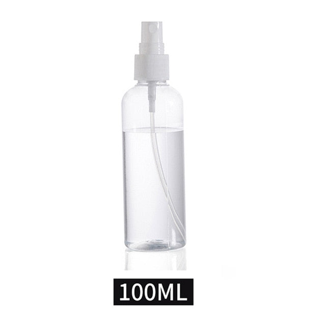 Plastic Mini Refillable Container Transparent Empty Spray Bottles - JJslove.com