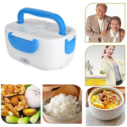 220V/110V Food Heater Electric Lunch Boxes Heated Food Containers Portable - JJslove.com