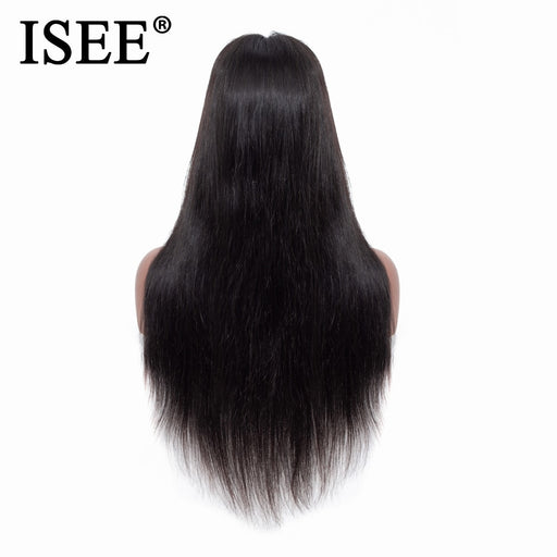 Straight Lace Front Wigs For Black Women Malaysian Lace Front Human Hair Wigs - JJslove.com