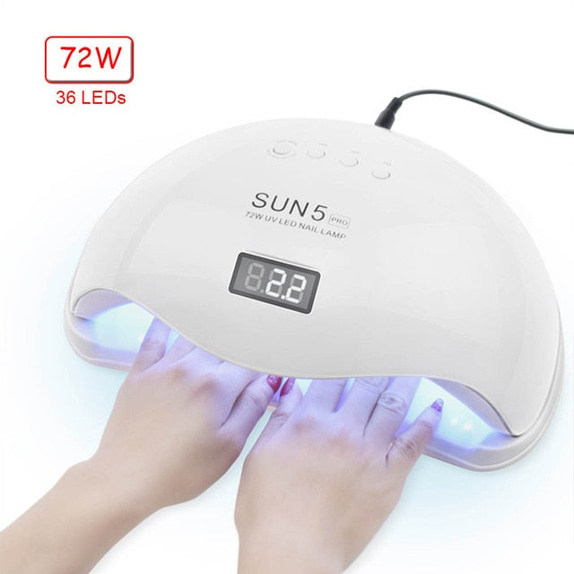 JJ'slove UV LED Nail Lamp Nail Dryer For All Gels Polish - JJslove.com