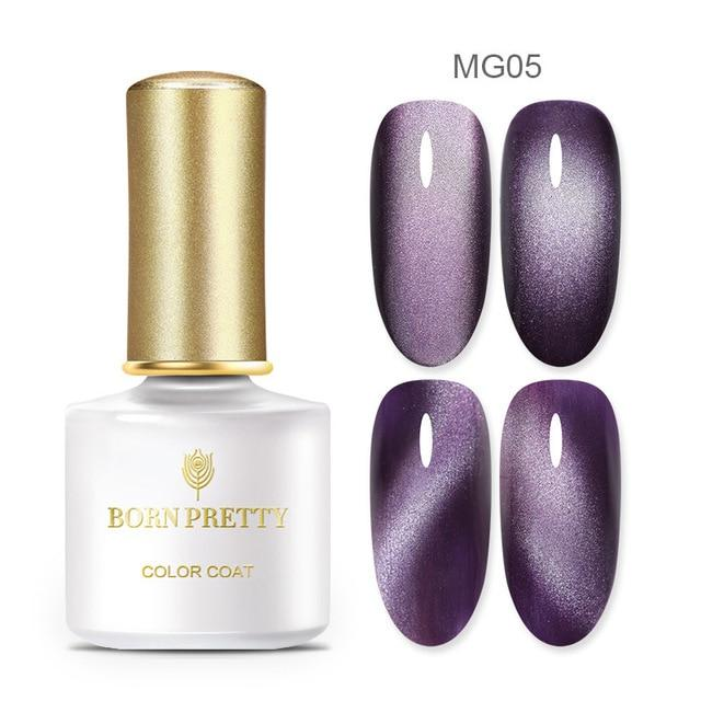 $3.99 PRETTY 5D Cat Eye Nail Gel 5ml Magnetic Soak Off UV Gel Free Shipping Worldwide