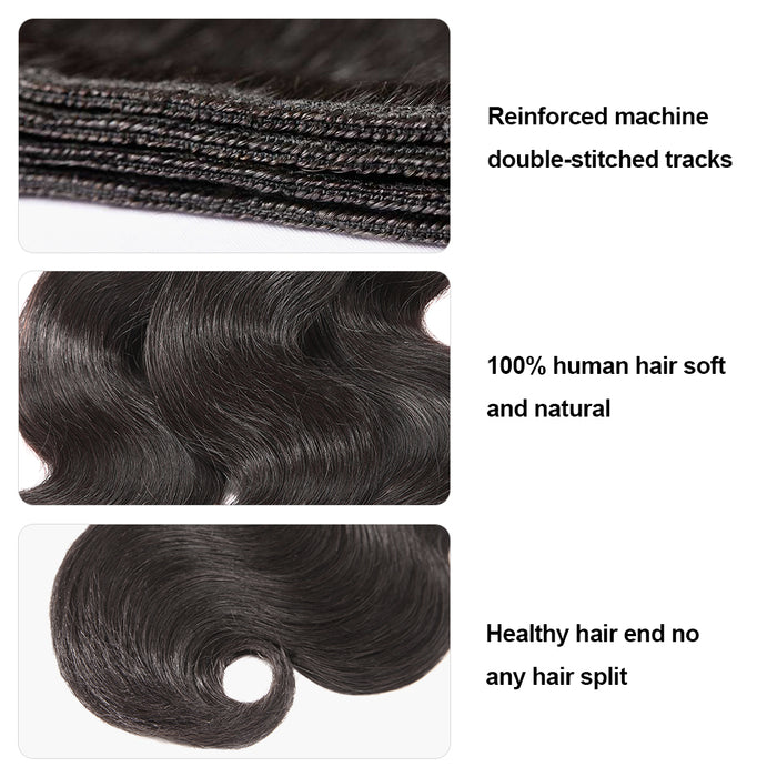 Brazilian Hair 6A Remy Weave Bundles  Body Wave  Wigs - JJslove.com