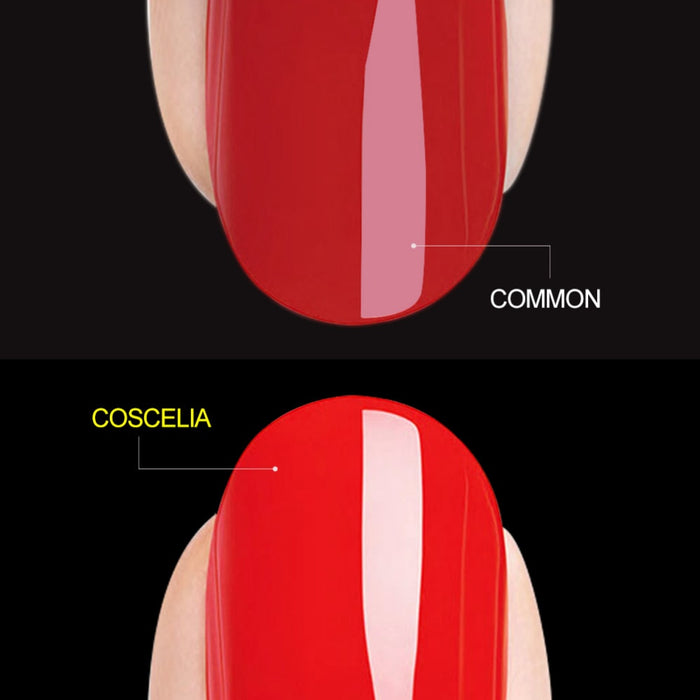 COSCELIA  8ml Transparent Base and Top Coat - JJslove.com
