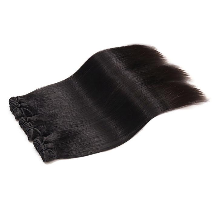 Indian Virgin Hair Bundles  Straight Hair Wigs Raw With Frontal Hair Wigs - JJslove.com