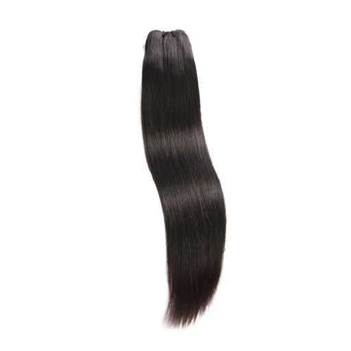 Weave Bundles Natural Color Raw Indian Virgin Straight Hair Wigs - JJslove.com