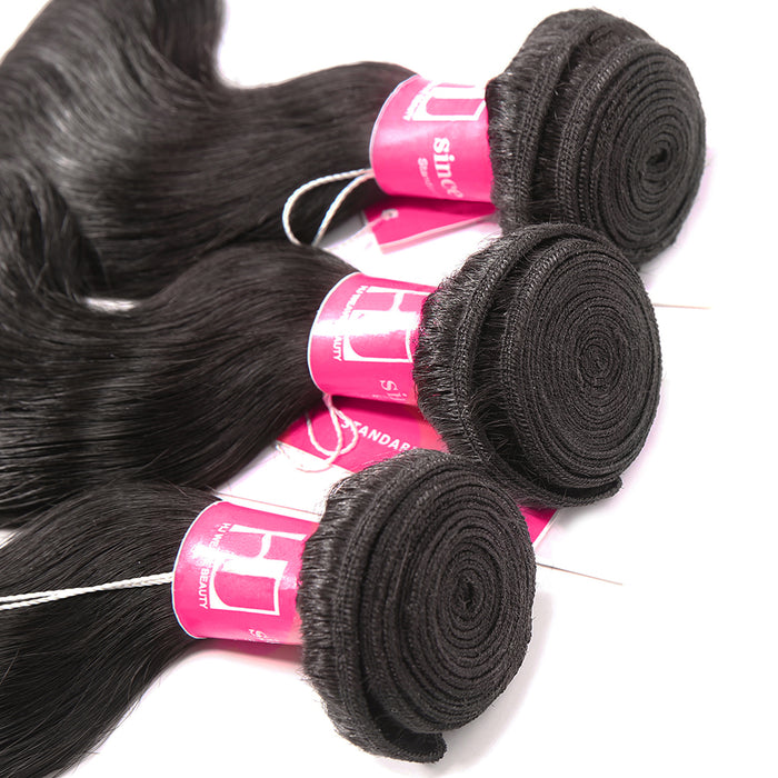 HJ Weave Beauty Hair Weave Bundles Peruvian Body Wave Wigs - JJslove.com
