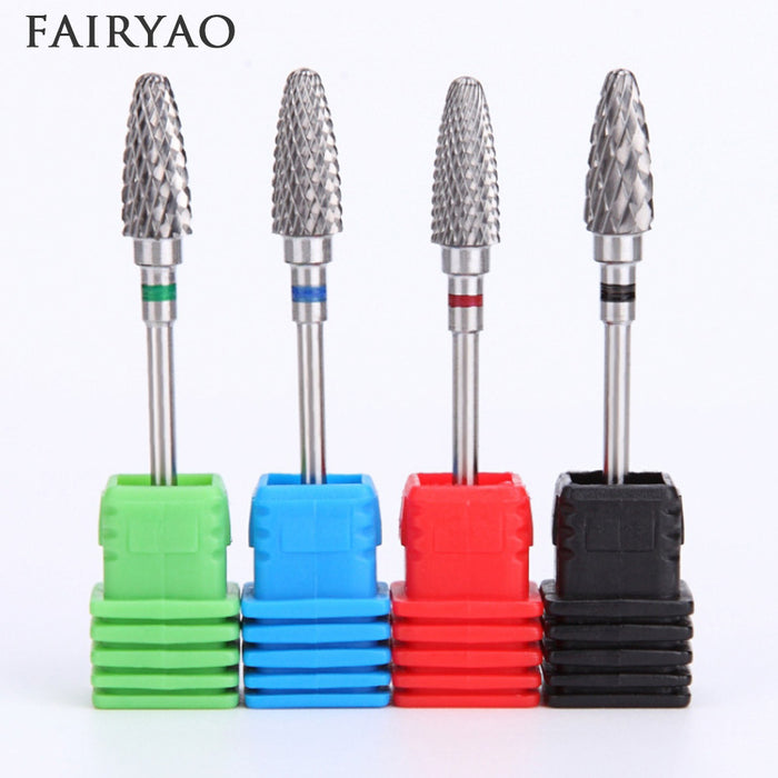 Bit Nail Art Tool For Electric  Carbide Milling Cutter Nail Drill - JJslove.com