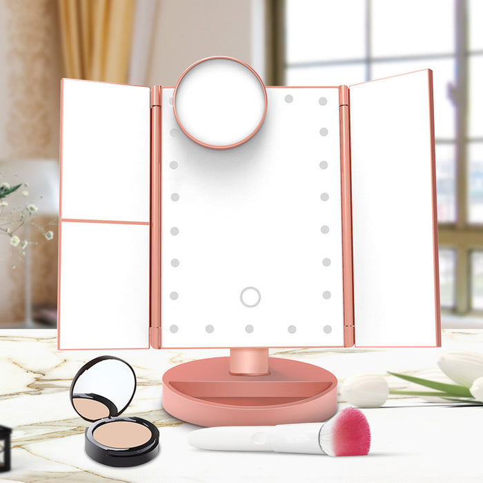 Makeup Mirror with 22 Lights LED - JJslove.com