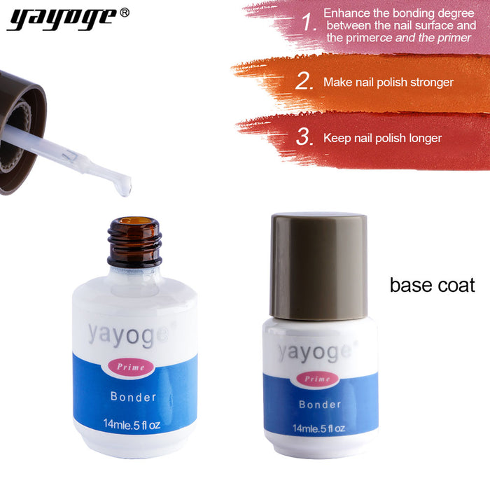 Yayoge Gel Nail Polish Base Coat - JJslove.com