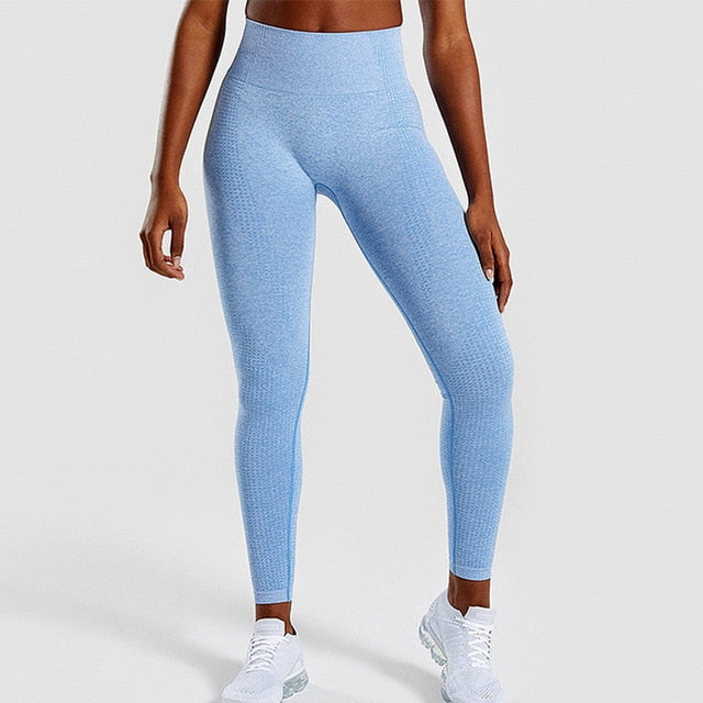High Waist Seamless Leggings Push Up Leggings Sport Women Fitness Running Yoga Pants - JJslove.com