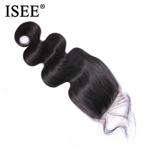 Brazilian Body Wave Closure Free Part Swiss Lace Closure - JJslove.com