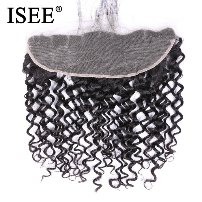 Brazilian Deep Wave Closure Lace Closure With Baby Hair - JJslove.com