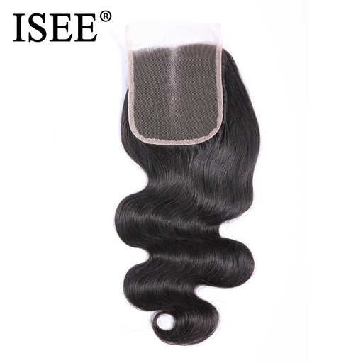 Peruvian Body Wave Closure 100% Remy Human Hair Lace Closure - JJslove.com