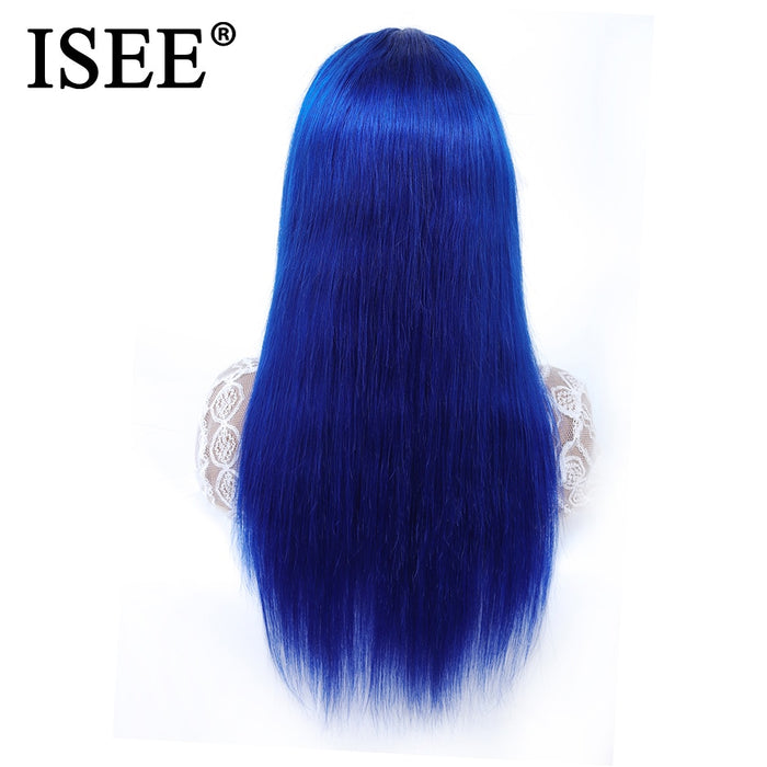 Pink/613 Blonde Lace Front Human Hair Wigs Remy Blue Lace Front Wigs - JJslove.com