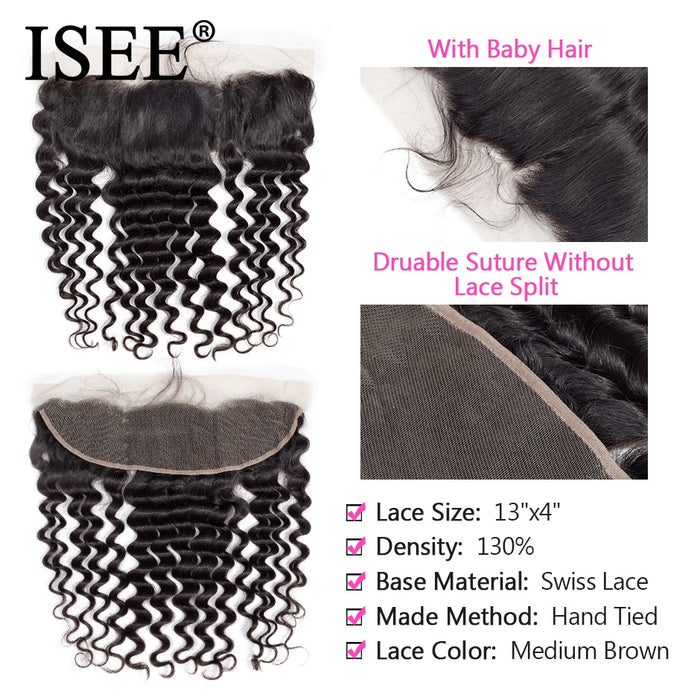 Malaysian Loose Deep Bundles With Frontal Remy Human Hair Bundles With Frontal - JJslove.com