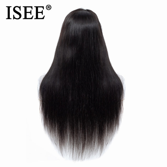 Malaysian Straight Lace Front Human Hair Wigs Straight Lace Front Wig - JJslove.com