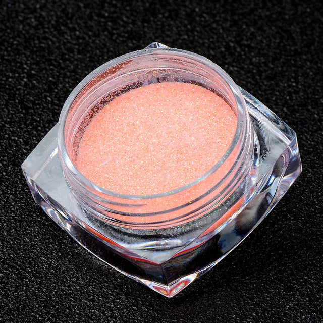 Mtssii 12 Candy Color Sugar Powder Nail Glitter Pastel Shiny Ultra-fine  Powder Paillette DIY UV Gel Polish - JJslove.com