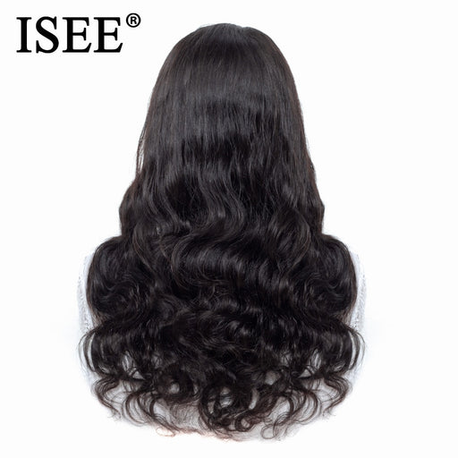 Peruvian Body Wave Wig Pre Plucked Lace Front Wigs - JJslove.com