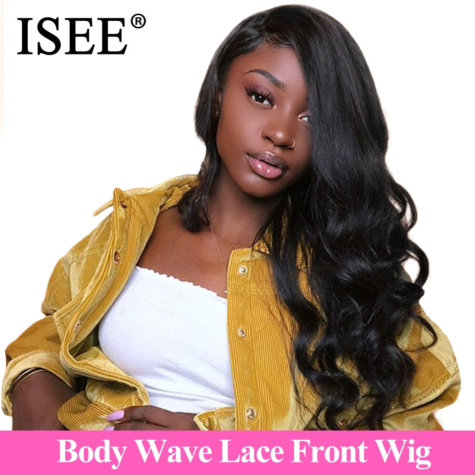 Peruvian Body Wave Wig Pre Plucked Hairline With Baby Hair - JJslove.com