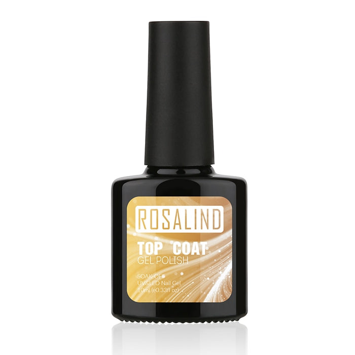 ROSALIND Coat Gel Nail polish 2PCS/Lot 10ml Top Base - JJslove.com