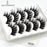 3D Mink Hair False Eyelashes Natural/Thick Long Eyelashes Wispy (5Pairs) - JJslove.com