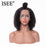 Short Curly Bob Wigs For Black Women Lace Front Human Hair Wigs - JJslove.com
