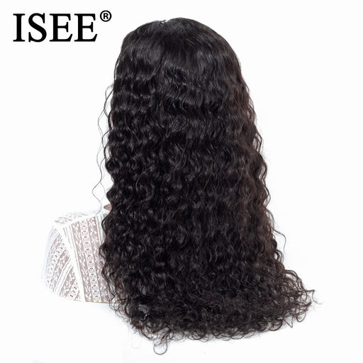 Water Wave Human Hair Wigs Malaysian 150% Density Lace Front Human Hair Wigs - JJslove.com