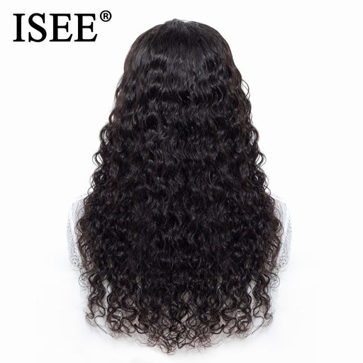 Water Wave Lace Front Human Hair Wigs For Women - JJslove.com