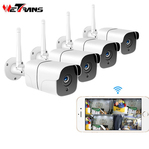 Wetrans Wireless Security Camera System 1080P IP Camera - JJslove.com