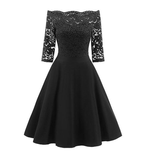 JJslove Women's Lace Cocktail Evening Party Dress - JJslove.com