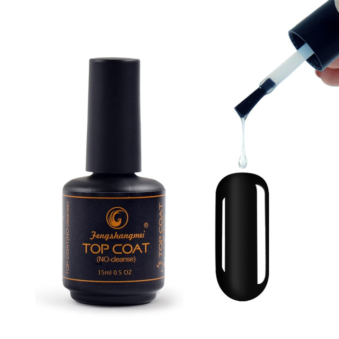 New 15ml Nail Tops Gel UV Top Coat - JJslove.com