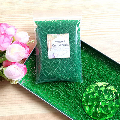 10000pcs/bag Crystal Soil Hydrogel Gel Polymer Water Beads Flower/Wedding/Decoration - JJslove.com