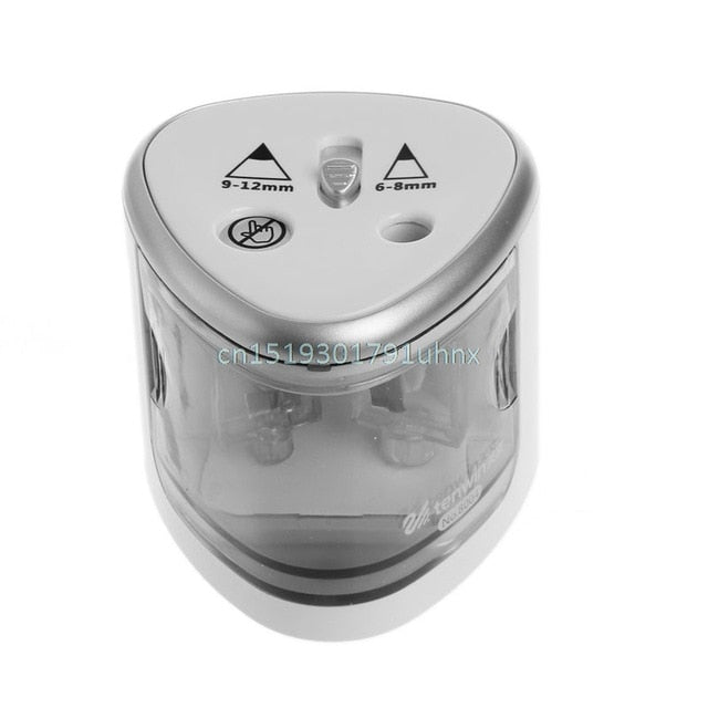 New Automatic Two-hole Electric Touch Switch Pencil Sharpener Home Office School